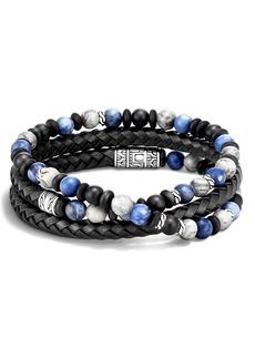 John Hardy Men's Classic Chain Triple Wrap Bracelet