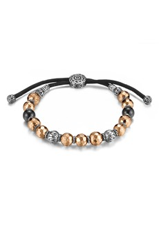 John Hardy Men's Hammered Bead Bracelet