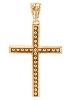 John Hardy Men's Jawan 18K Gold Cross Pendant