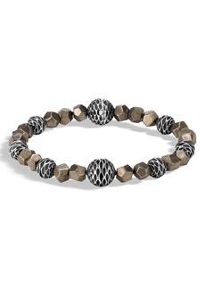 John Hardy Men's Legends Naga Beaded Bracelet