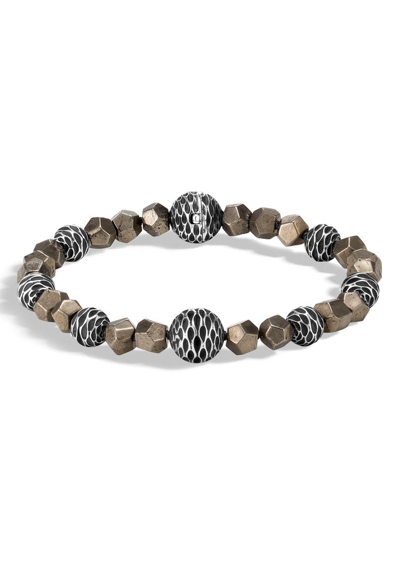 John Hardy Men's Legends Naga Beaded Bracelet