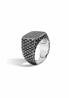 John Hardy Men's Legends Naga Dragon Signet Ring