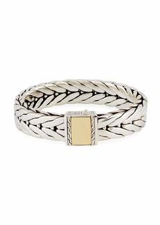 John Hardy Men's Modern Chain Large Rectangle Bracelet
