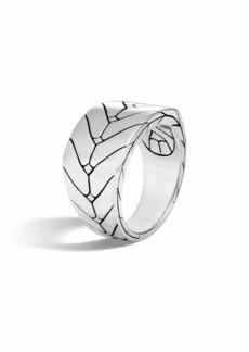 John Hardy Men's Modern Chain Sterling Silver Band Ring