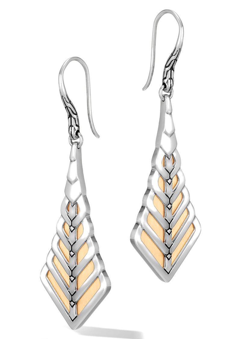 John Hardy Modern Chain Drop Earrings