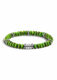John Hardy Mohave Bedeg Men's Beaded Bracelet