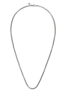 John Hardy Naga Box Chain Necklace