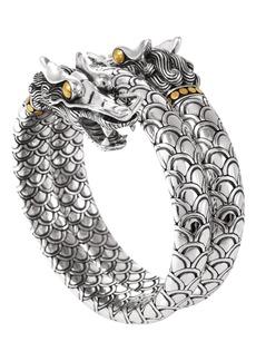 John Hardy 'Naga' Double Coil Dragon Bracelet