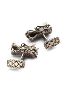 John Hardy Naga Dragon Head Cuff Links