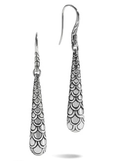 John Hardy 'Naga' Scale Drop Earrings