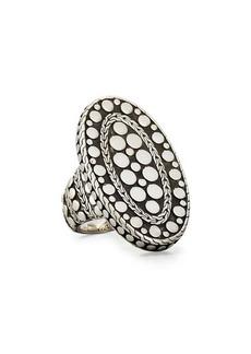 John Hardy Oval Dot Ring