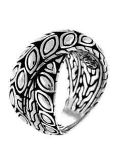 John Hardy Padi Silver Twist Ring