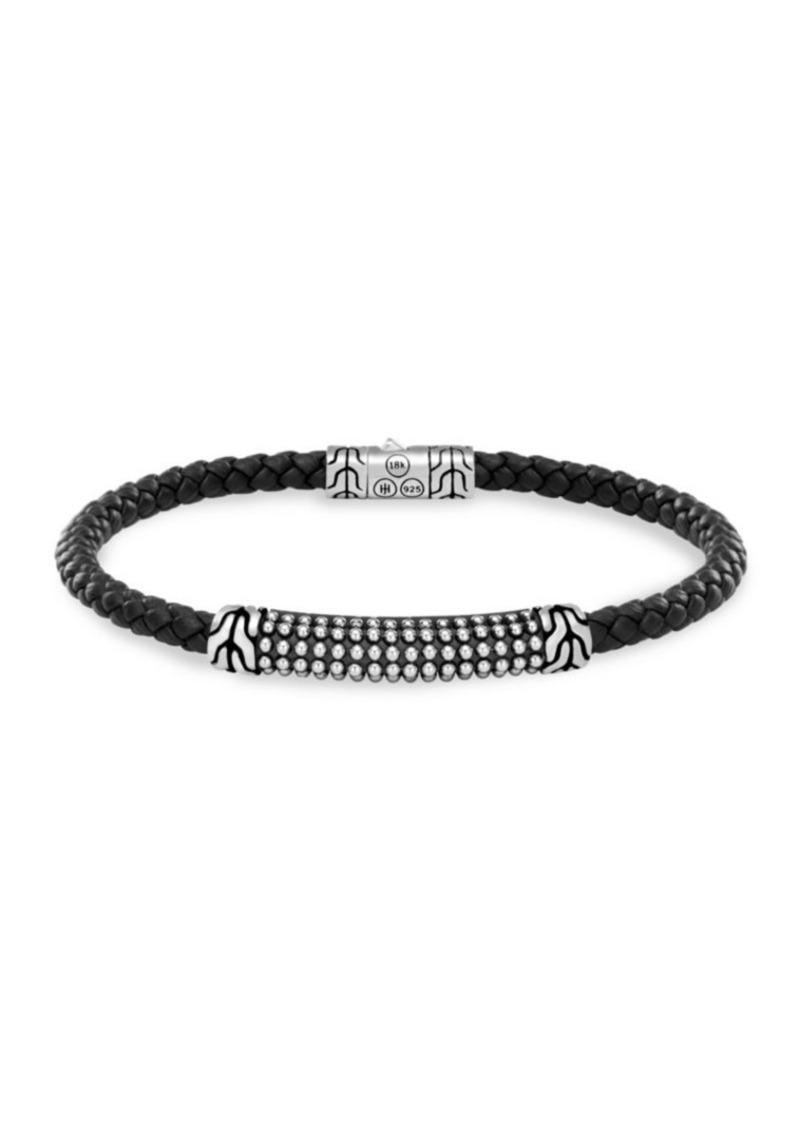John Hardy Silver Classic Braid Bracelet