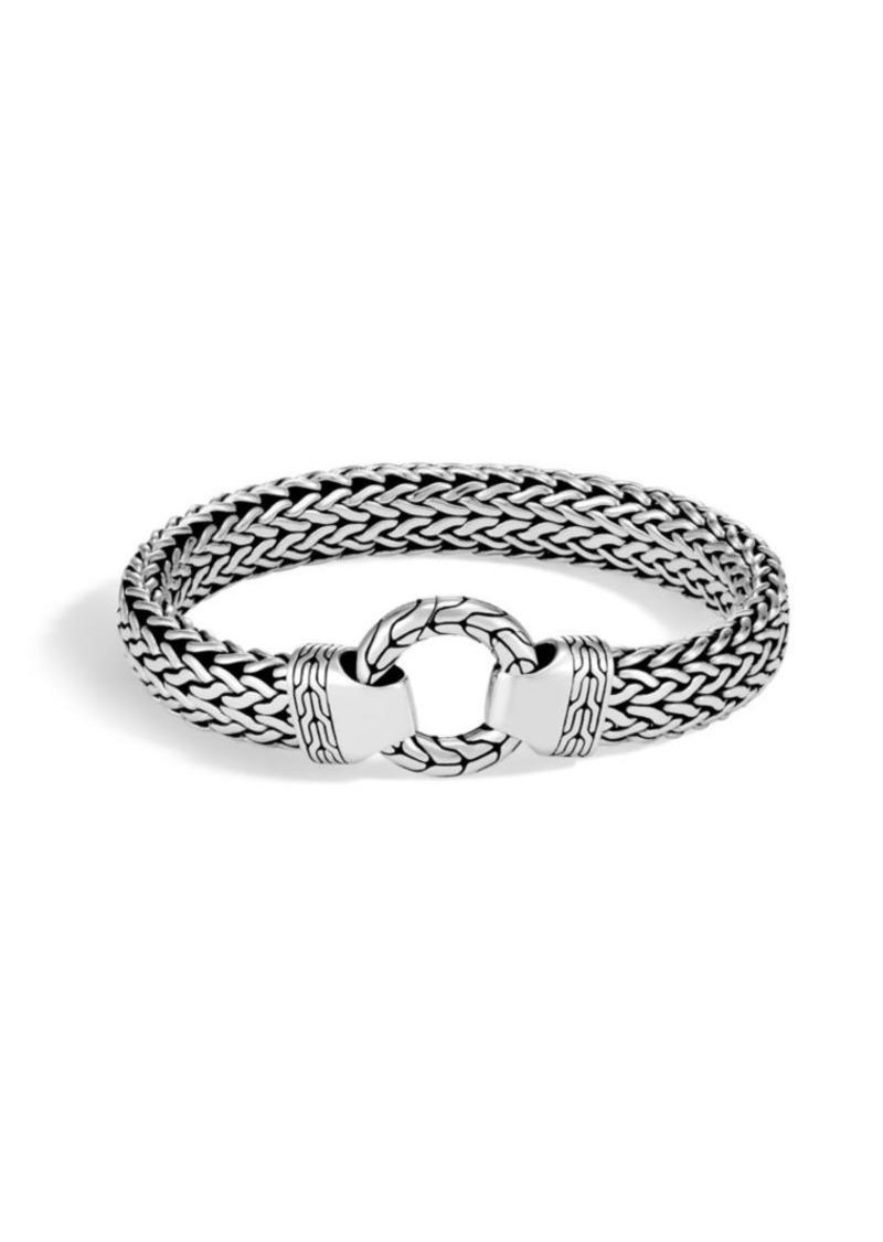 John Hardy Silver Classic Chain Bracelet
