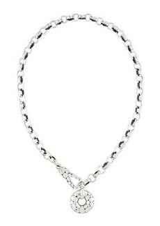 John Hardy Silver Kali Link Necklace