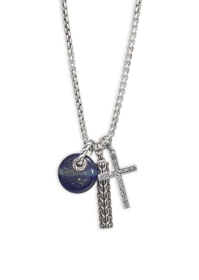 John Hardy Silver Pendant Necklace