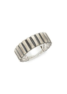 John Hardy Sterling Silver Band Ring