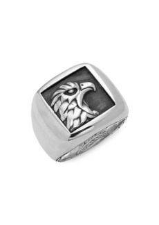 John Hardy Legends Sterling Silver Eagle Ring