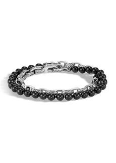 John Hardy Men's Classic Chain Double-Wrap Bracelet