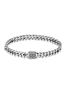 John Hardy Men's Classic Chain Small Link Bracelet, Size M-L