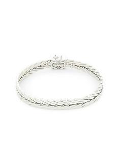 John Hardy Modern Chain Black Spinel & Sterling Silver Bracelet