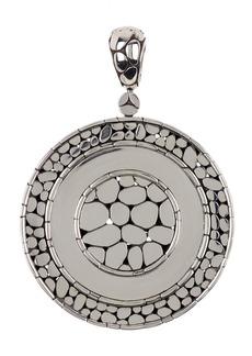 John Hardy Sterling Silver Nuansa Wheel Pendant
