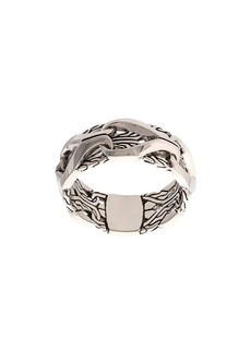 John Hardy Silver Classic Chain Ring