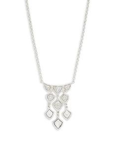 John Hardy Sterling Silver & Diamond Pendant Necklace
