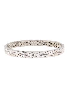 John Hardy Sterling Silver Chevron Bracelet
