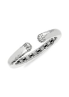 John Hardy Sterling Silver Dot Moon Cuff Bracelet