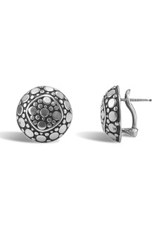 John Hardy Sterling Silver Dot Stud Earrings