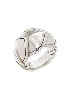 John Hardy Sterling Silver Legends Naga Ring