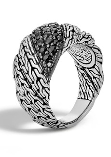John Hardy Twisted Chain Sterling Silver Ring - Size 7