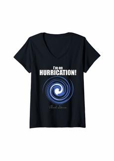 John Lewis Womens I'm On Hurrication V-Neck T-Shirt