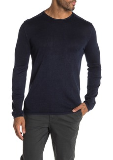 John Varvatos Acid Wash Crew Neck Sweater