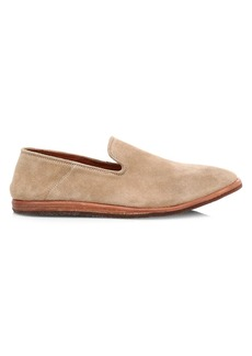 John Varvatos Algiers Slip-On Suede Shoes