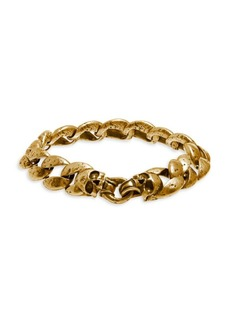 John Varvatos Artisan Metals Brass Link Bracelet