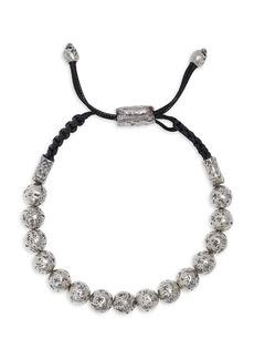 John Varvatos Artisan Metals Sterling Silver Adjustable Bracelet