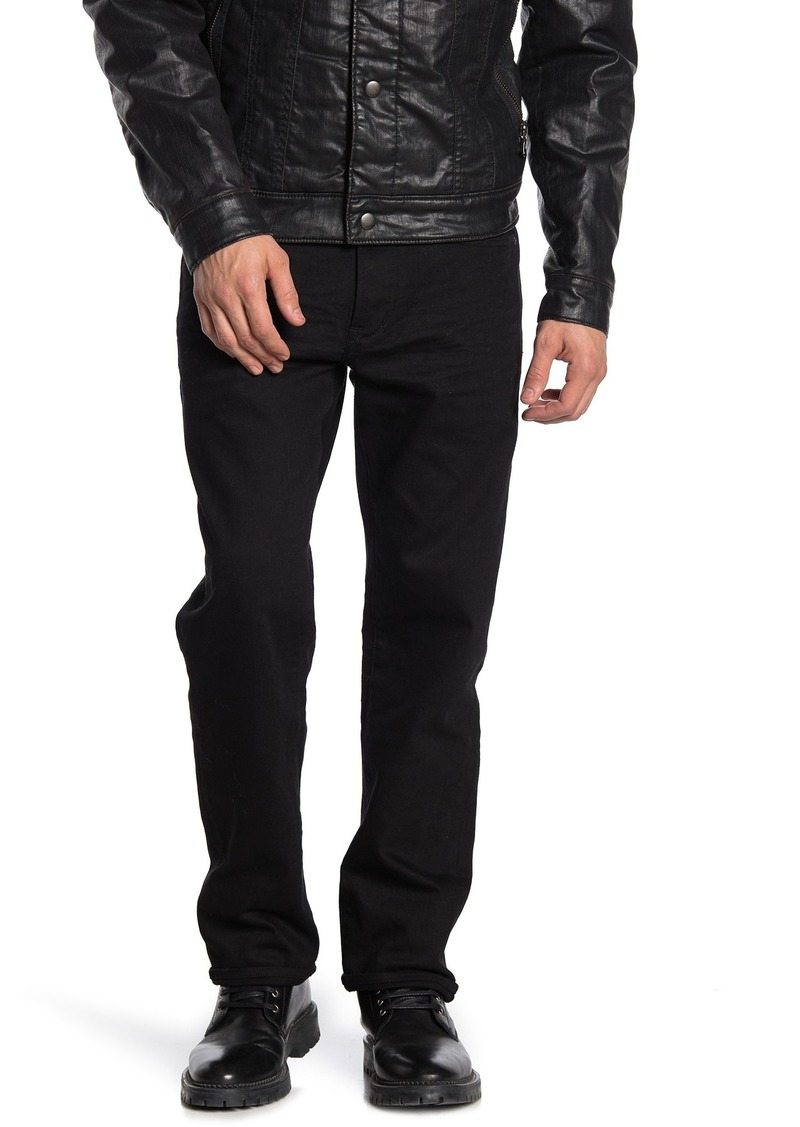 John Varvatos Authentic Fit Solid Jeans