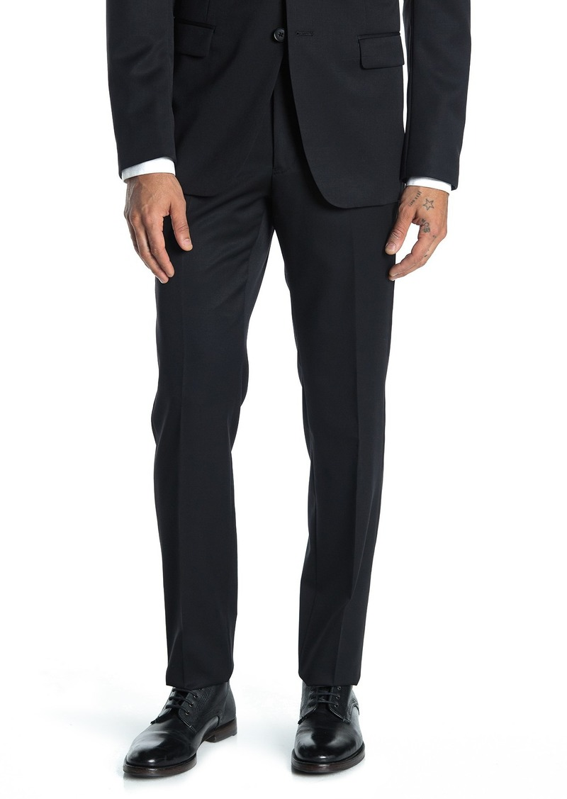 John Varvatos Bedford Black Suit Separates Trouser