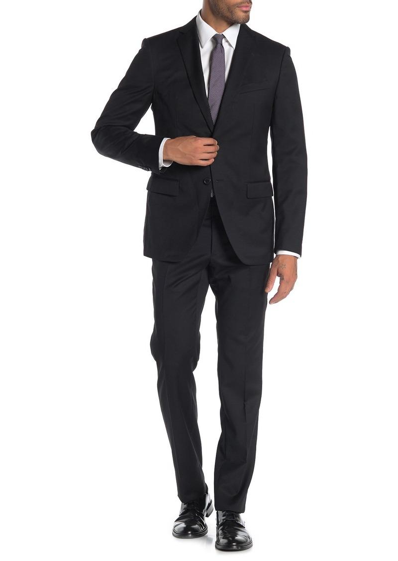 John Varvatos Bedford Solid Jacket & Pants 2-Piece Trim Fit Suit