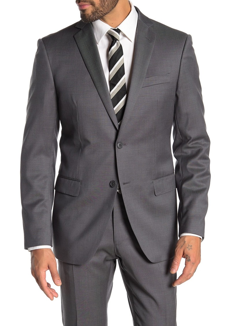John Varvatos Bedford Two Button Notch Lapel Wool Suit Separates Jacket
