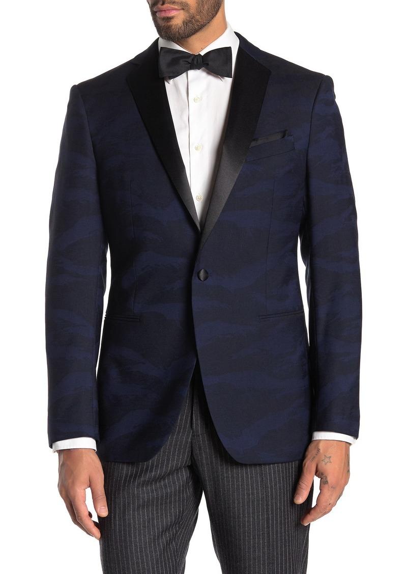 John Varvatos Bedford Wool Tuxedo Jacket