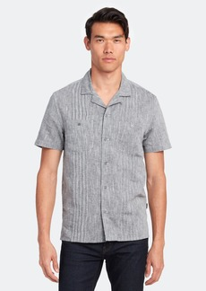 John Varvatos Benny Easy Fit Guayabera Shirt - M - Also in: S, XL, L, XXL