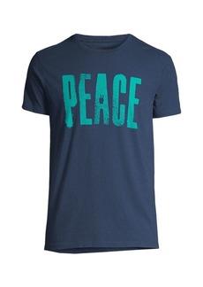 John Varvatos Big Peace Graphic Tee