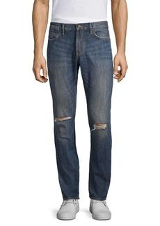 John Varvatos Bowery Ripped Knee Jeans