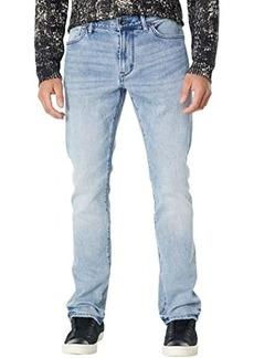 John Varvatos Bowery Slim Straight Fit Jeans in Old Blue - Eddie Wash J306EX2B