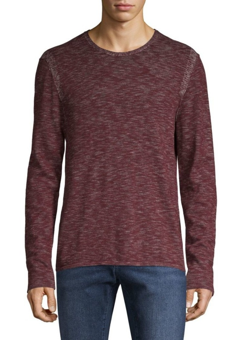 John Varvatos Brushed Cotton Top