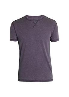 John Varvatos Burnout Crewneck T-Shirt