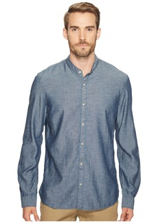 John Varvatos Button Down Banded Collar Shirt